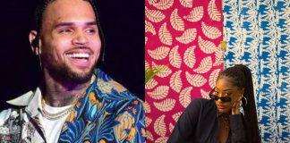 American Singer Chris Brown Commends Nigerian Singer, Tems
