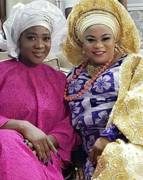 Mercy Johnson, Sola Sobowale