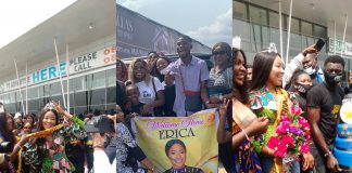 BBNaija's Erica Arrives In Abia State For Homecoming Tour