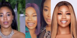 BBNaija's Erica Links Up With Disqualified Colleague, Tacha (Video)