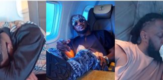Paul Okoye Mocks Wizkid, Timaya, And Runtown As They Sleep On Private Jet (Video)