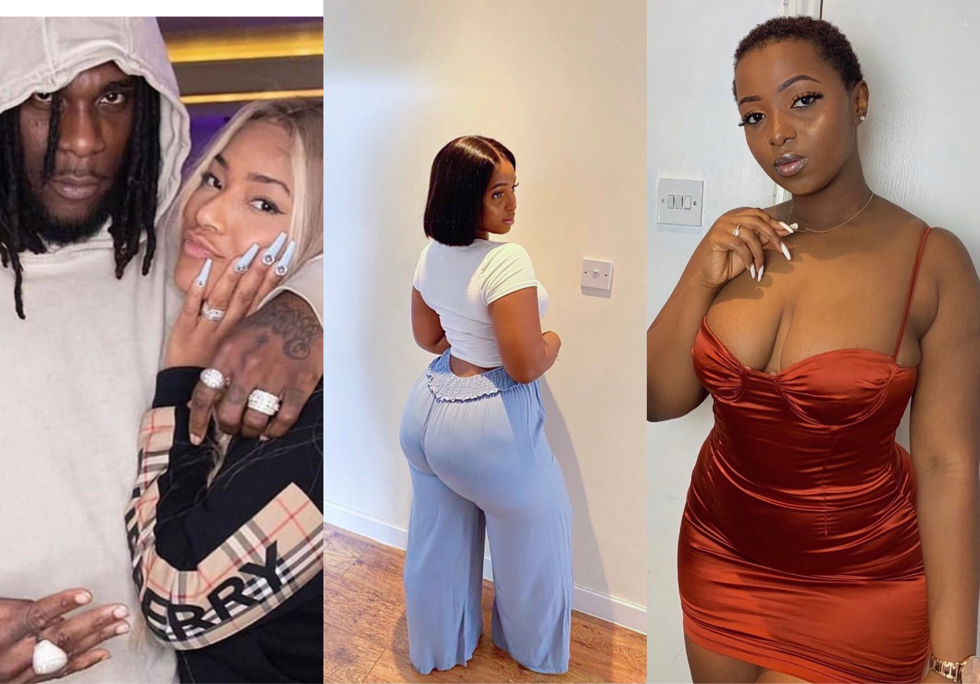 'He Calls Me His Jollof Rice' - Burna Boy's Alleged Side Chick Exposes Him For Cheating