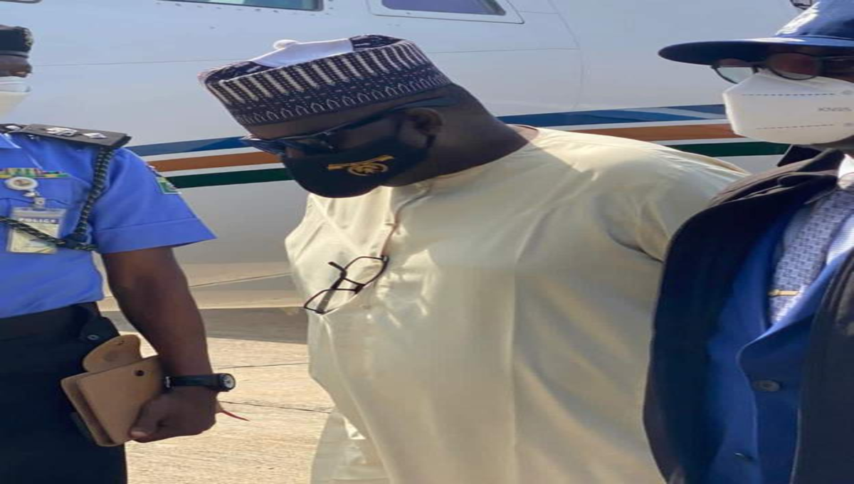 BREAKING: Police Extradite Maina From Niger Republic