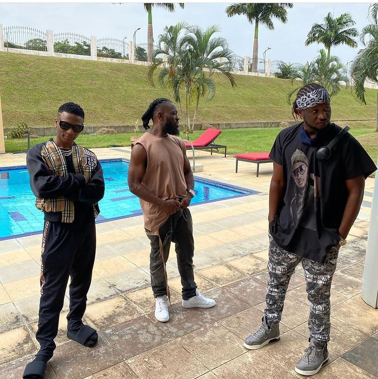 Wizkid, Timaya, Paul Okoye