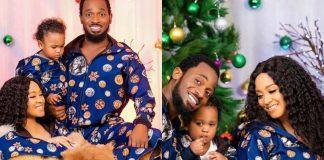 Singer D'Banj Unveils Son's Face In Christmas Photos