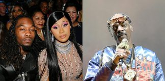 Offset Defends Cardi B After Snoop Dogg Criticized Her Song, 'WAP'
