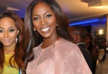 'You Worked So Hard This Year', Toke Makinwa Congratulates Tiwa Savage On Her Headies Artist Of The Year Nomination