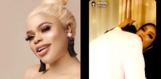 Bobrisky Shows Off N15million Cash Gift From His Mystery Lover (Video)
