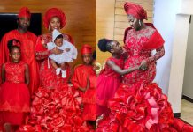 Actress Mercy Johnson Ushers In New Month With Lovely Family Photos