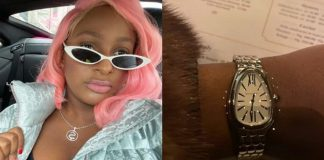 DJ Cuppy Shows Off Luxury Bulgari Wristwatch From Potential Suitor