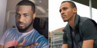 'I'm Disappointed In You' - Peter Okoye Replies Footballer Osaze Odemwingie