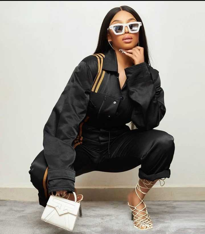 Why women need to make their own money while praying for a man: Toke Makinwa