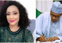 'Do Something Before Nigeria Explodes' - Actress Lilian Bach Tells Buhari