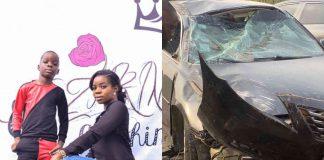 Wizkid's Baby Mama, Shola Ogudu Survives Car Crash