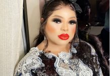 Bobrisky Reacts After Lady Tattoos His Face On Her Body