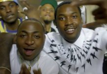 Nigerians Reacts After Davido Replies Meek Mill's Tweet