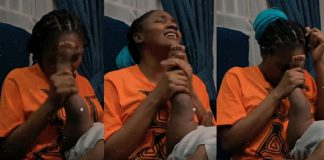 Singer Simi Uses Her Daughter's Leg As Microphone