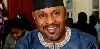 Actor Saheed Balogun Spends Time With His Children (Photo)