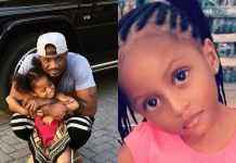 Peter Okoye Celebrates His Daughter Ae She Turns Eight