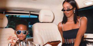 Tiwa Savage's Son Jamil Gets Cash Reward From Tooth Fairy (Video)