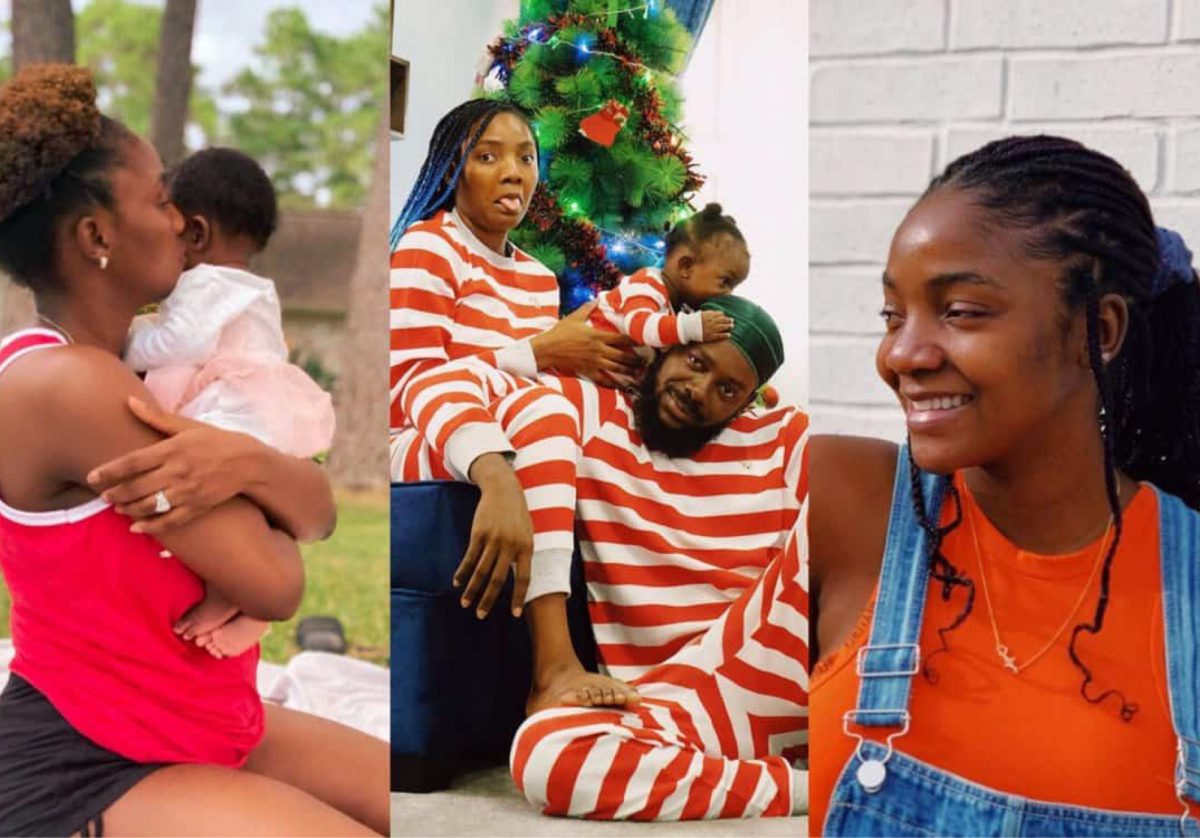 Singer Simi Explains Why She Hides Daughter's Face
