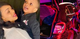 Wizkid's Second Baby Mama, Involved In Car Accident Again
