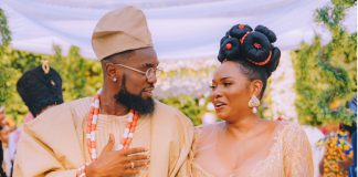 Patoranking Leaves Fans In Suspense After Sharing Wedding Photos With Yemi Alade
