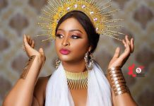 Actress Etinosa Idemudia Finally Reveals Her Daughter's Face