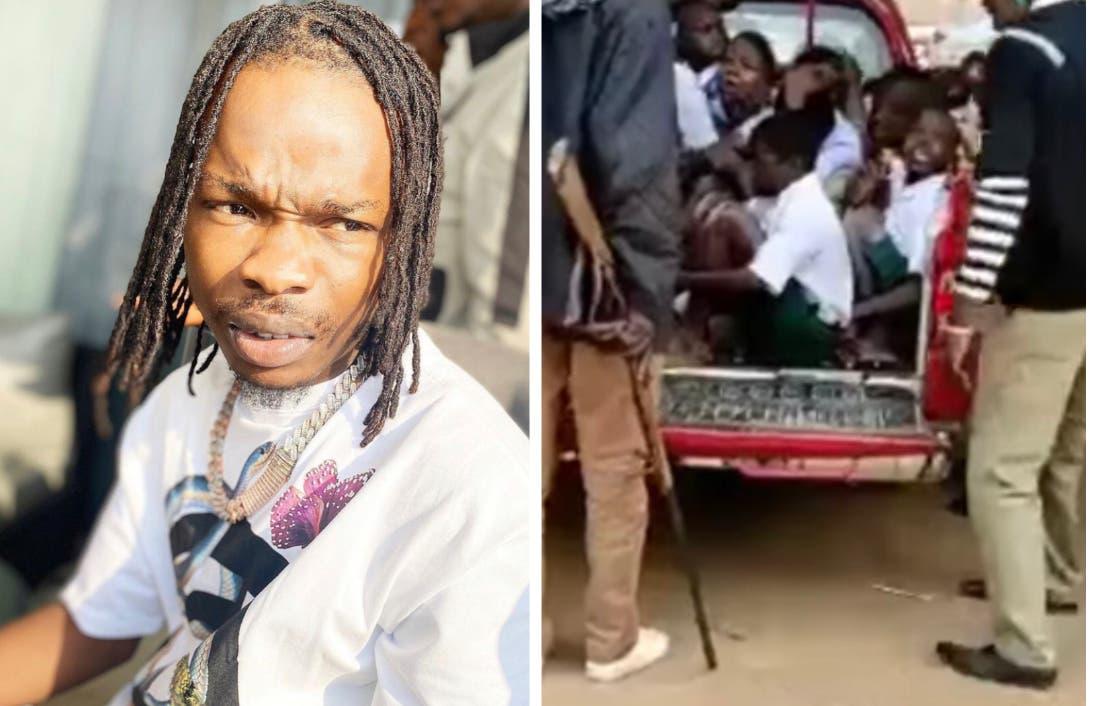 Nigerians React As Amotekun Arrests School Students For Behaving Like Naira Marley