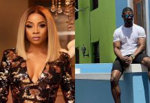 Toke Makinwa Sparks Dating Rumors With Fitness Expert, Tuoyo