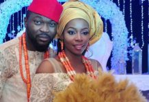 Comedian Buchi And Wife, Rukky Celebrate 4th Wedding Anniversary