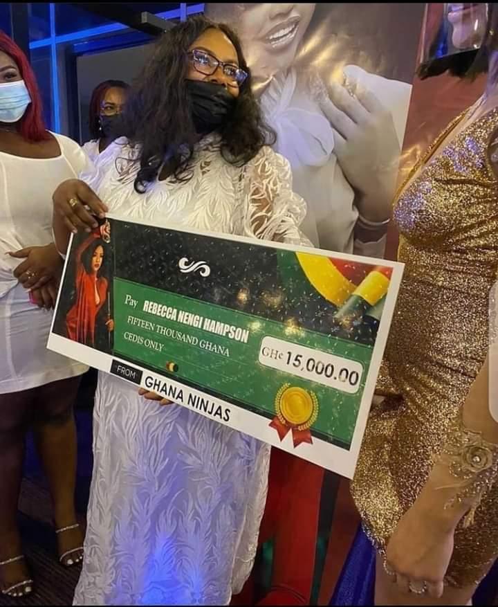 Nengi in Ghana