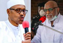 Insecurity: Herdsman Can't Vacate Ondo State, Presidency Replies Akeredolu