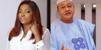 Funke Akindele Celebrates Jide Kosoko As He Clocks A New Age