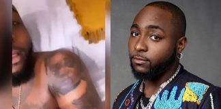 Singer Davido Tattoos His Kids On His Body