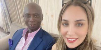Ned Nwoko Gifts His Moroccan Wife A Rolex Wristwatch On Her 30th Birthday