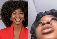 BBNaija's Kim Oprah Grabs Her Passport While Running For Dear Life Out Of Her Hotel Room In Dubai
