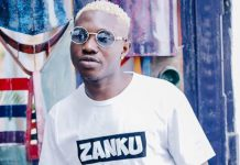 Zlatan Ibile Gets Tattoo Of Ghana's First President, Dr kwame Nkrumah