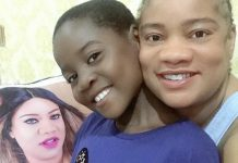 Actress Opeyemi Aiyeola Adopts A Young Girl