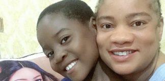 Actress Opeyemi Aiyeola Adopts A Young Girl
