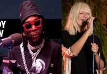 Burna Boy To Feature On Sia's New Single