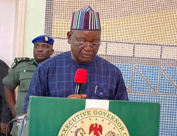 No More Amnesty For Criminals In Benue, Says Ortom