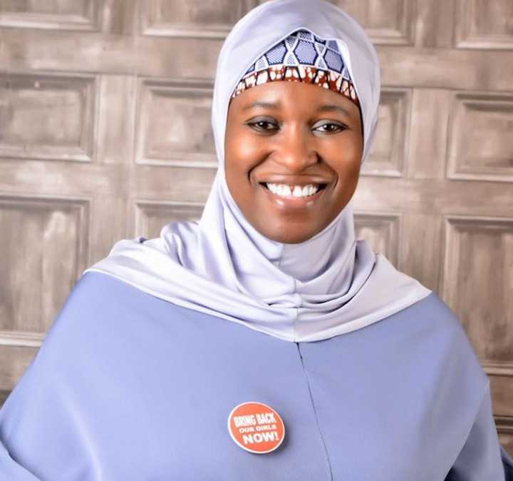 Although I wear hijab, I will fight for people to wear any cloth they want to wear – Aisha Yesufu