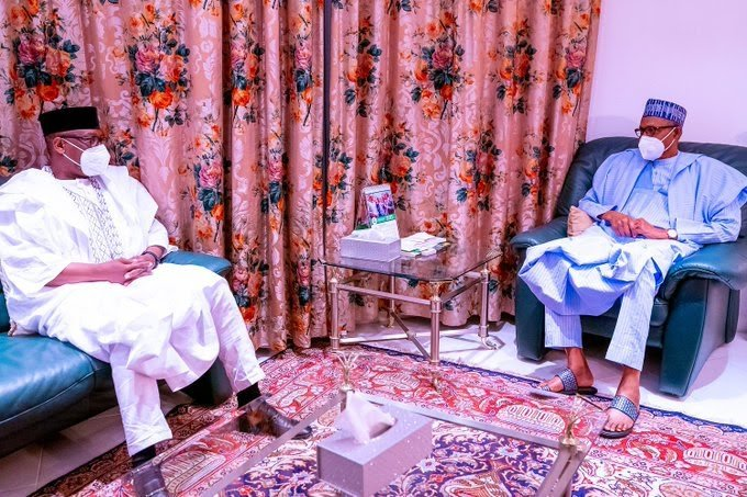 Kagara Abductions: Niger Gov Meets Buhari,Seeks 'Everlasting' Solution To Insecurity