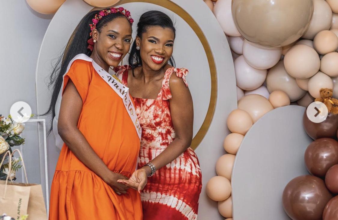 Lala Akindoju and a guest