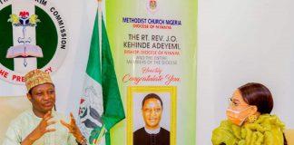 Tonto Dikeh Becomes Ambassador Of Peace For NCPC