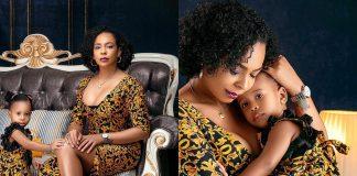 BBNaija's TBoss Shares Adorable Photos With Her Daughter
