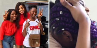 Oritsefemi's Daughter Surprises Nabila Fash With Gifts On Valentine's Day