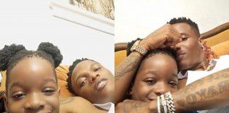 Boluwatife Balogun Hangs Out With His Dad, Wizkid