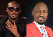2face Idibia Reacts After Apostle Suleiman Claimed That He Makes Money Through Speaking In Tongues